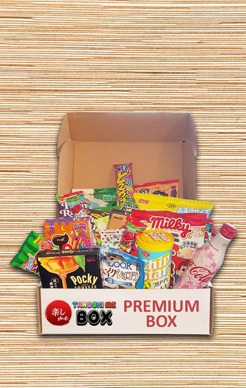 Premium Box Tanoshi Me Box Japon