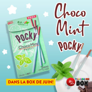 Pocky Mint Tanoshi Me