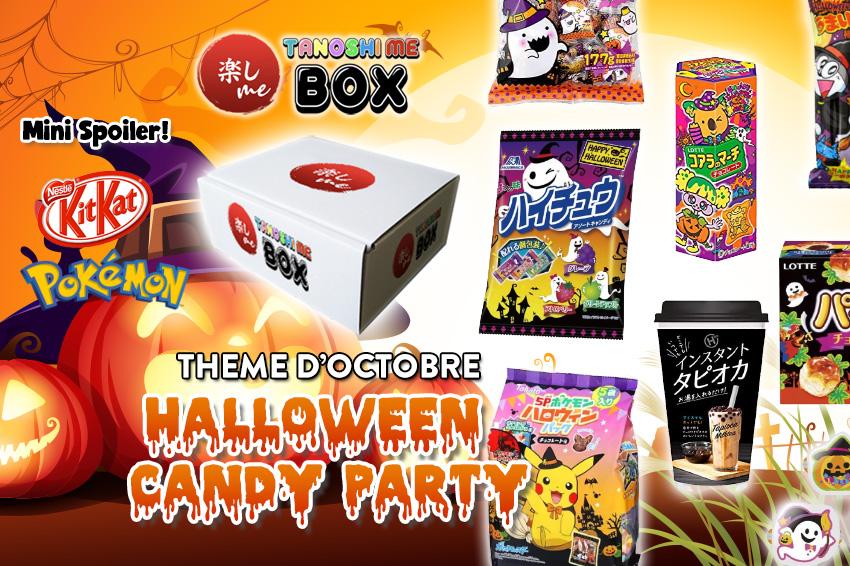 Box japonaise Tanoshi Me Octobre Halloween