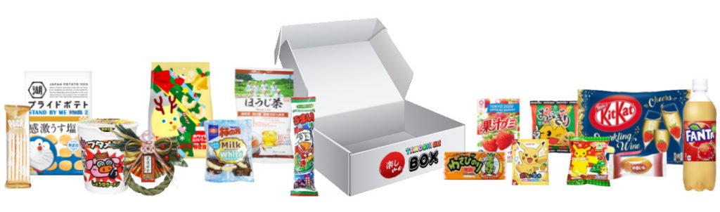Tanoshi Me Box Decembre