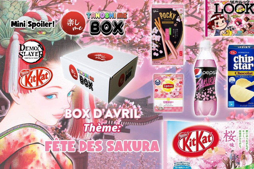 Box Avril Tanoshi Me